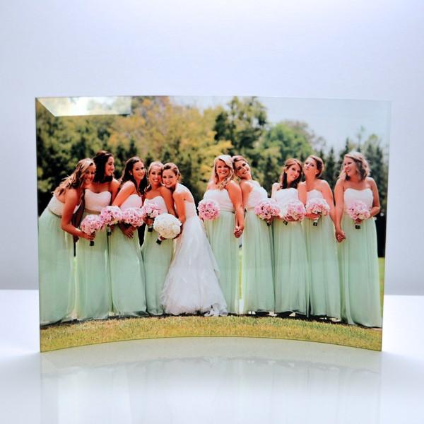 Unique way to display wedding photos